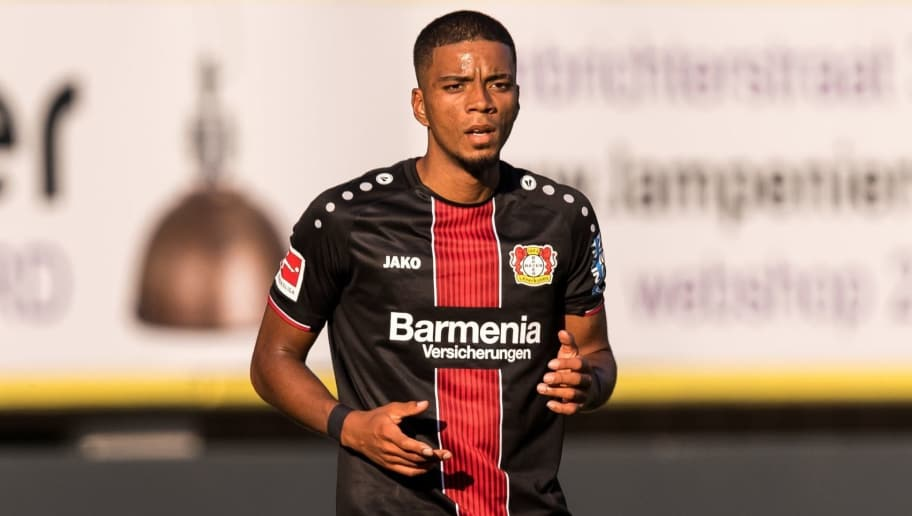 Benjamin Henrichs of Bayer 04 Leverkusen during the Pre-season Friendly match between Fortuna Sittard and Bayer Leverkusen at the Fortuna Sittard Stadium on July 28, 2018 in Sittard, The Netherlands(Photo by VI Images via Getty Images)