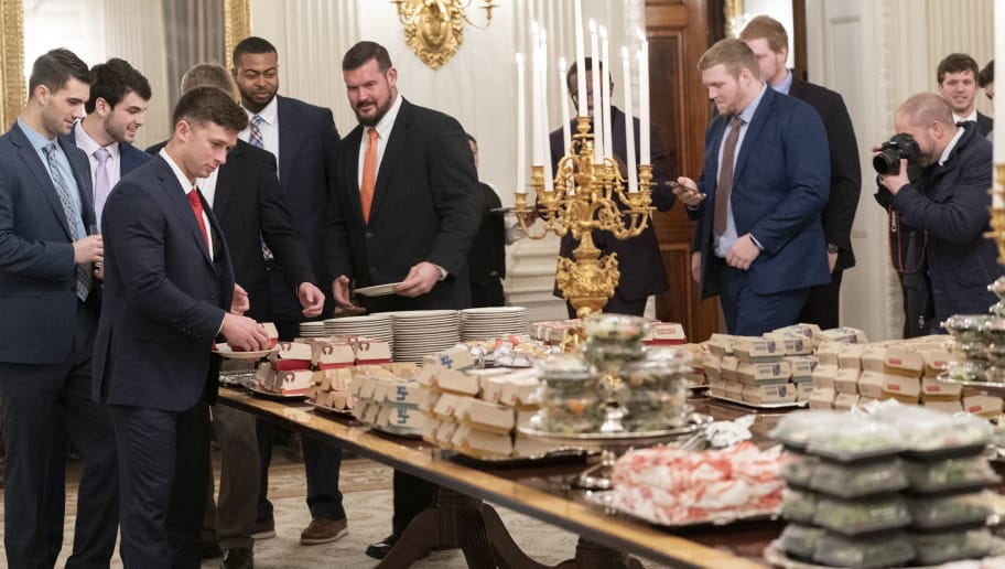 Only 6 Players From Clemson S National Championship Depth Chart Actually Went To White House