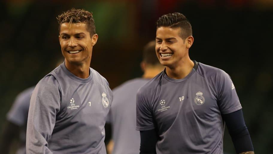 Cristiano Ronaldo,James Rodriguez