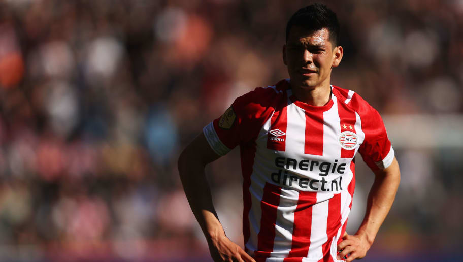 buy online 864d4 ee141 Napoli Confirm Signing of PSV Winger Hirving Lozano in €42m ...