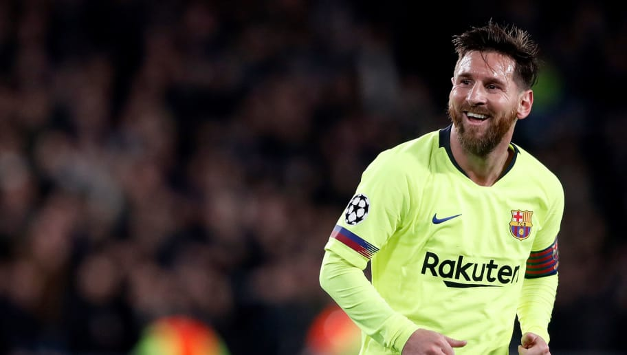 EINDHOVEN, NETHERLANDS - NOVEMBER 28: Lionel Messi of FC Barcelona  during the UEFA Champions League  match between PSV v FC Barcelona at the Philips Stadium on November 28, 2018 in Eindhoven Netherlands (Photo by Soccrates/Getty Images)
