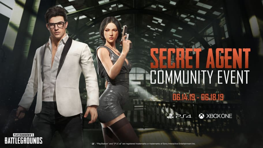 PUBG Corp announced the Secret Agent Community Event on Friday.
