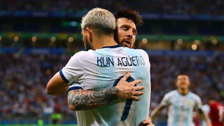 Sergio Aguero,Lionel Messi