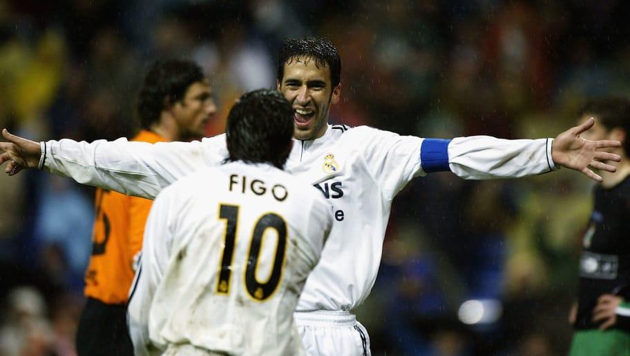 Raul celebrates
