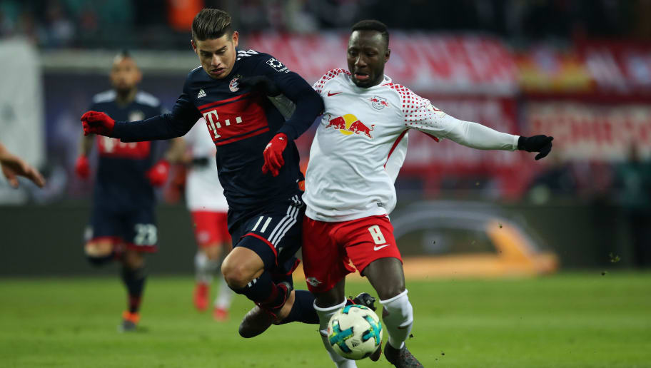 Naby Keita,James Rodriguez