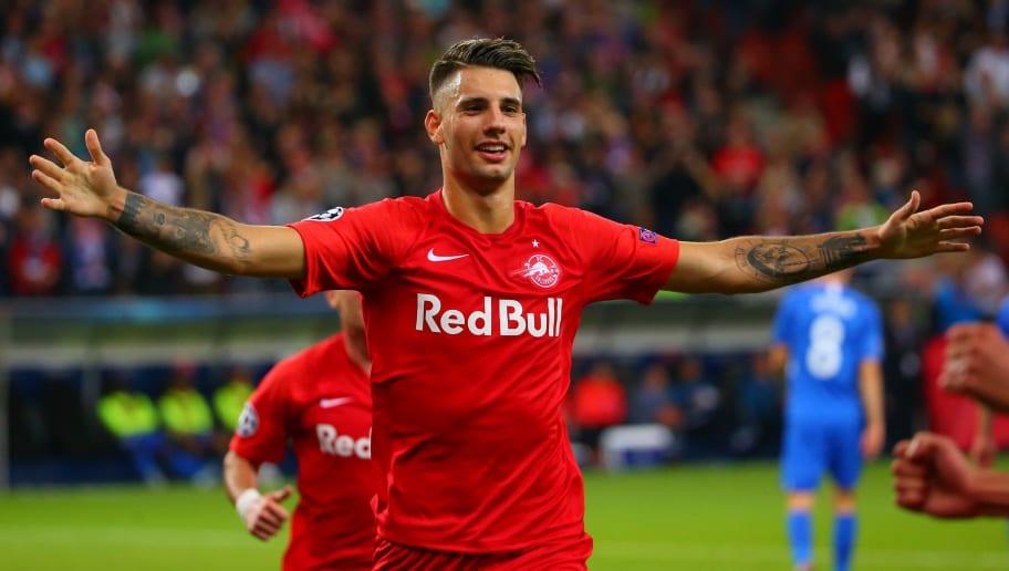 RB Salzburg v KRC Genk: Group E - UEFA Champions League