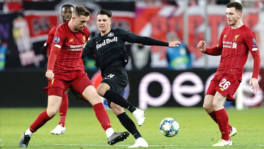 RB Salzburg v Liverpool FC: Group E - UEFA Champions League