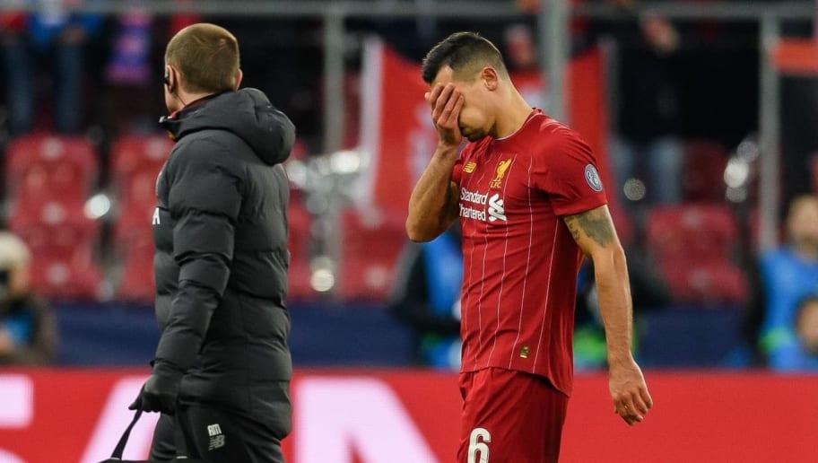 Jurgen Klopp Provides Update on Dejan Lovren After Liverpool Defender Limps Off Again