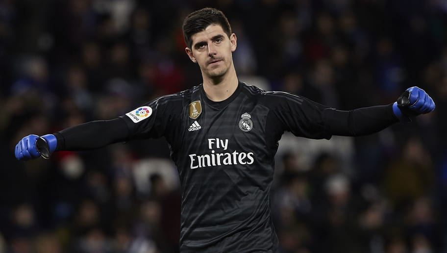 ed90fca97 Thibaut Courtois Insists Real Madrid Teammates Do Not Dwell On Cristiano  Ronaldo s Absence