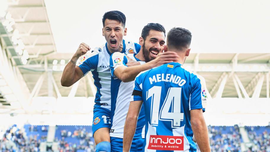 Borja Iglesias,Hernan Perez,Oscar Melendo