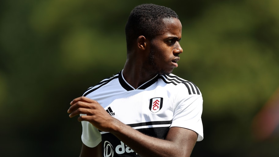 ALDERSHOT, ENGLAND - JULY 14:  Ryan Sessegnon of Fulham looks on during the pre-season friendly between Reading and Fulham at the EBB Stadium on July 14, 2018 in Aldershot, England.  (Photo by Bryn Lennon/Getty Images)