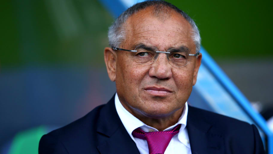READING, ENGLAND - SEPTEMBER 13:  Felix Magath manager of Fulham prior to the the Sky Bet Championship match between Reading and Fulham at Madejski Stadium on September 13, 2014 in Reading, England.  (Photo by Martin Willetts/Getty Images)