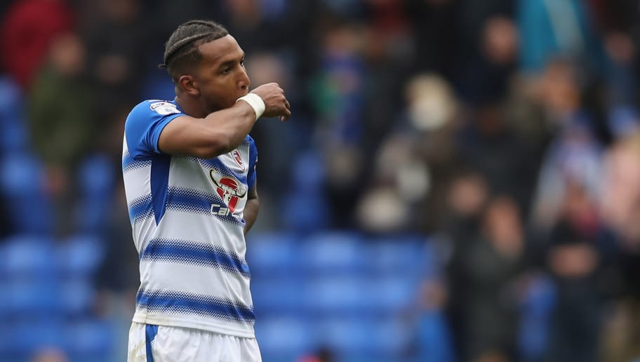 READING, ENGLAND - APRIL 28:  Liam Moore of Reading looks dejected at the final whistle during the Sky Bet Championship match between Reading and Ipswich Town at Madejski Stadium on April 28, 2018 in Reading, England.  (Photo by Christopher Lee/Getty Images)