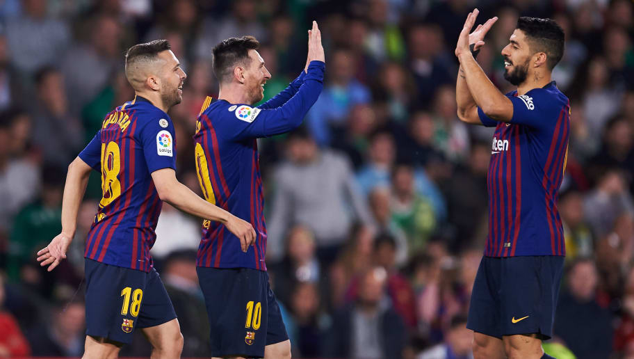 e143a6b0e Real Betis 1-4 Barcelona: Report, Ratings & Reaction as Messi Hat-Trick  Extends La Blaugrana's Lead