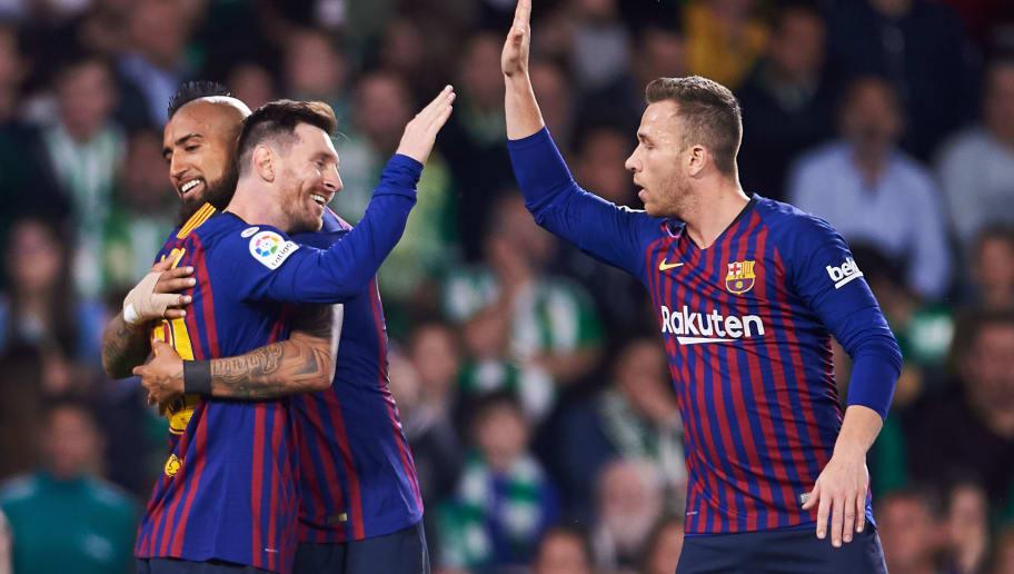 Lionel Messi,Arturo Vidal,Arthur Melo