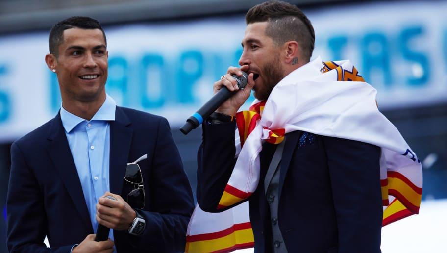 Cristiano Ronaldo,Sergio Ramos