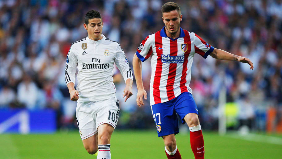Saul Niguez,James Rodriguez
