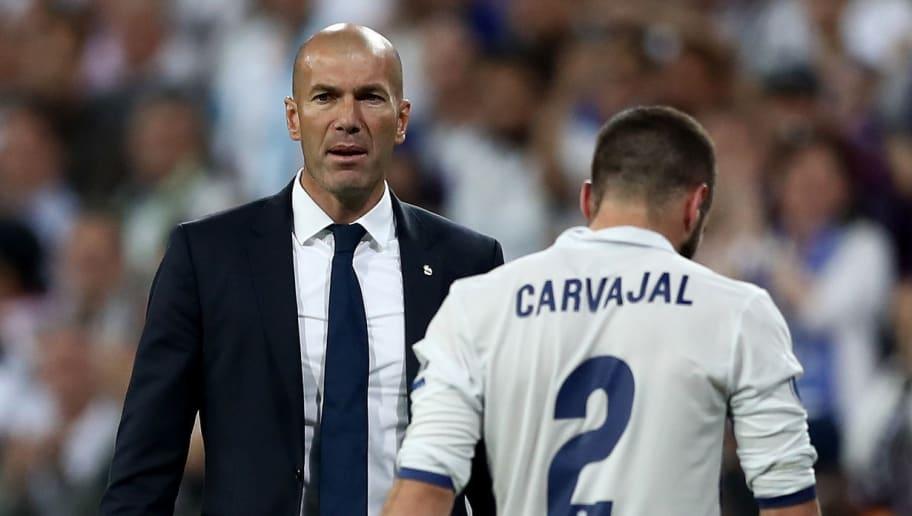Zinedine Zidane,Dani Carvajal