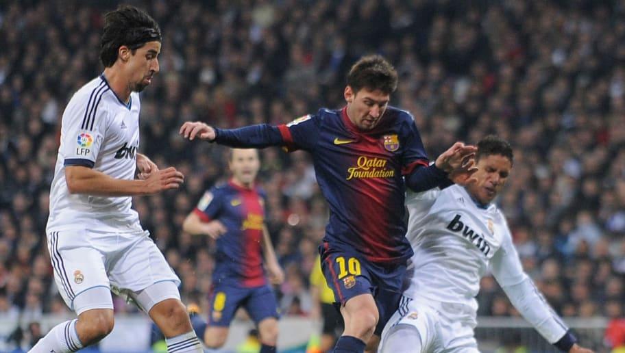 Lio Messi,Sami Khedira,Raphael Verane