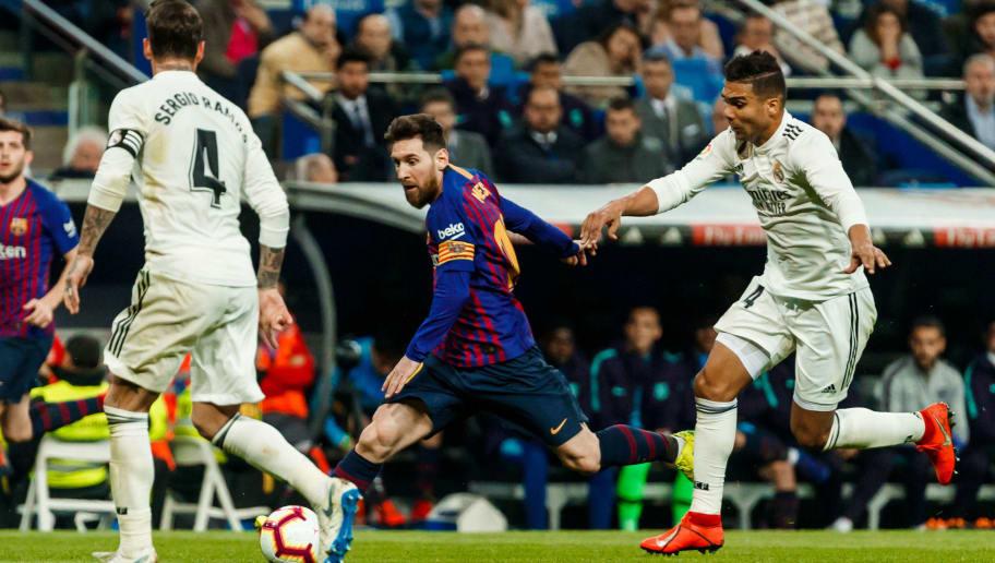 Casemiro,Sergio Ramos,Lionel Messi
