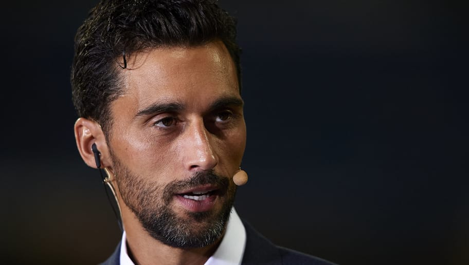 MADRID, SPAIN - AUGUST 19:  Alvaro Arbeloa attends the La Liga match between Real Madrid CF and Getafe CF at Estadio Santiago Bernabeu on August 19, 2018 in Madrid, Spain. (Photo by Quality Sport Images/Getty Images)