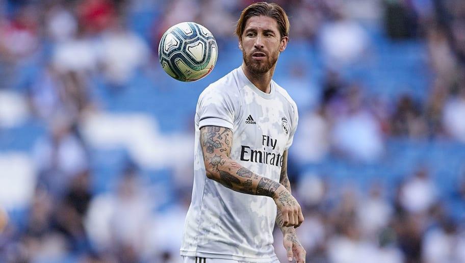 Real Madrid 2019/2020 - Sergio Ramos Poster | Sold at ... |Sergio Ramos 2020 Drawing
