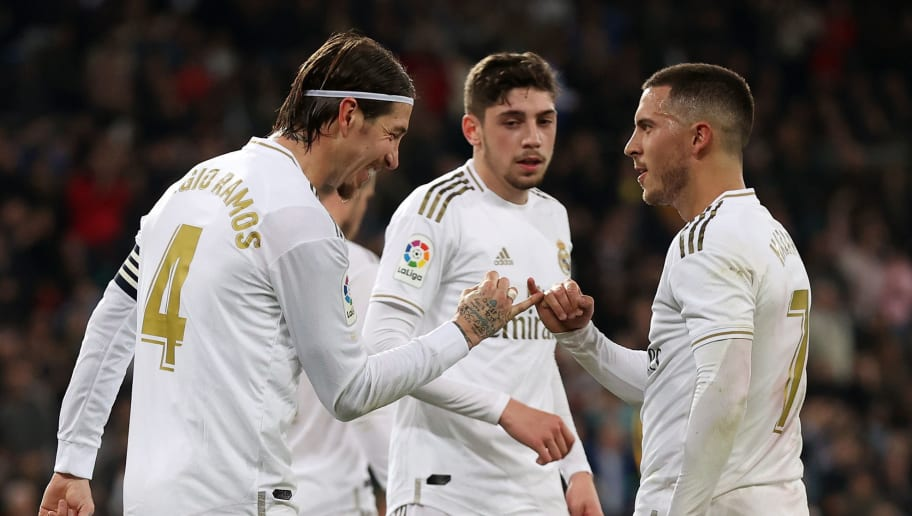 Eden Hazard,Sergio Ramos