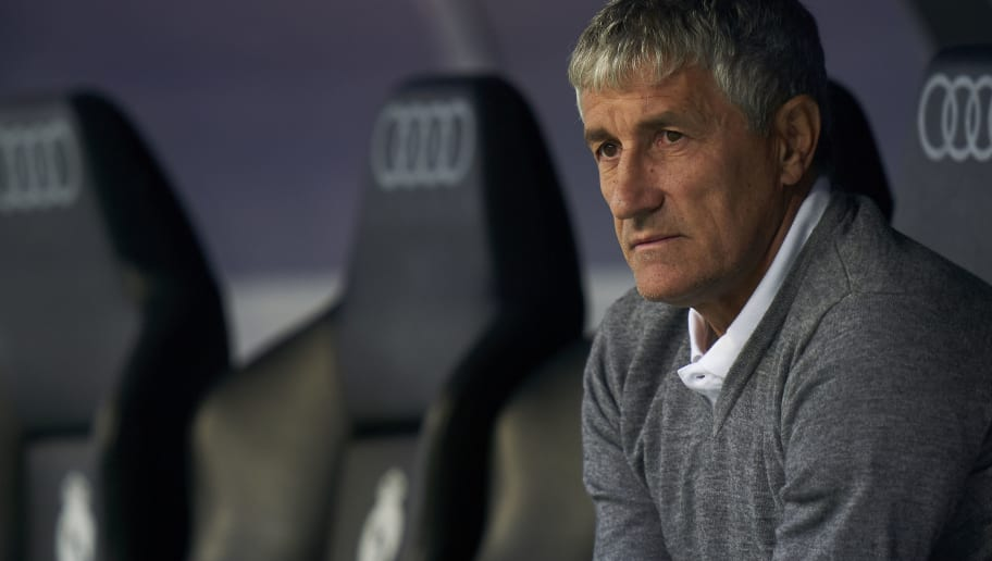 Quique Setien, Manager