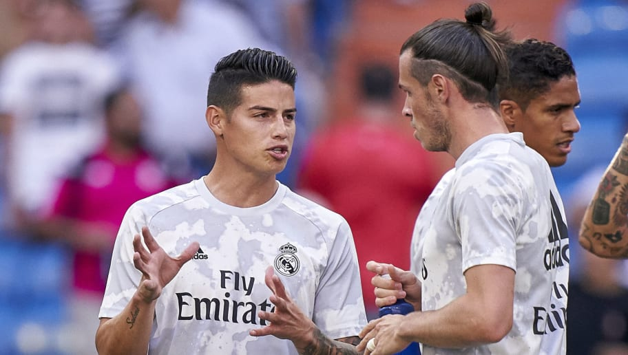 Real Madrid Must Raise €200m in January Sales - Gareth Bale & James Rodriguez Up for Grabs