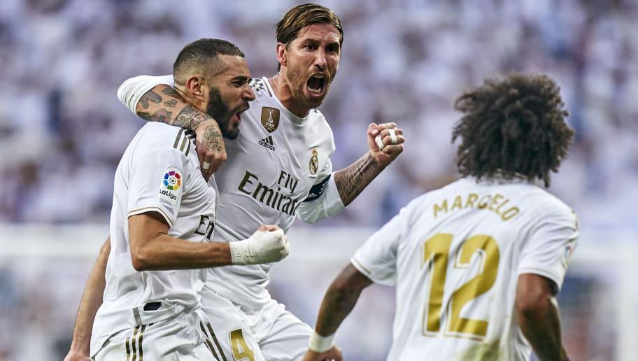 Sergio Ramos,Karim Benzema,Marcelo Vieira
