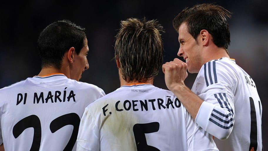 Gareth Bale,Angel Di Maria,Fabio Coentrao