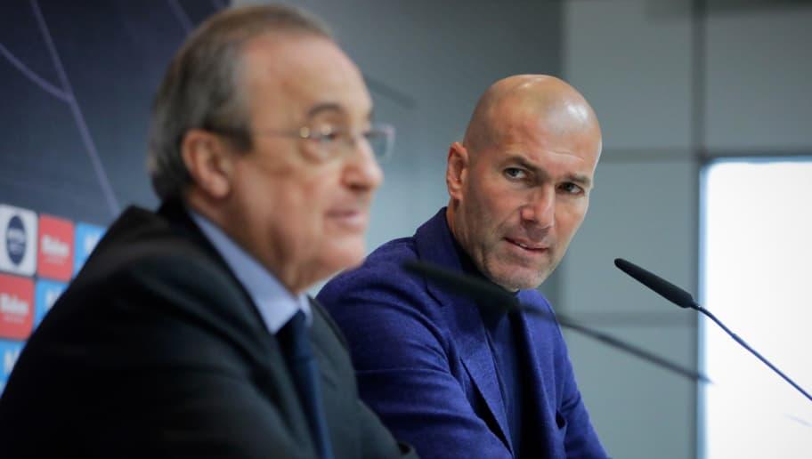59966d1bdb443 La petición de Florentino a Zidane sobre Ronaldo y Bale que pudo ...