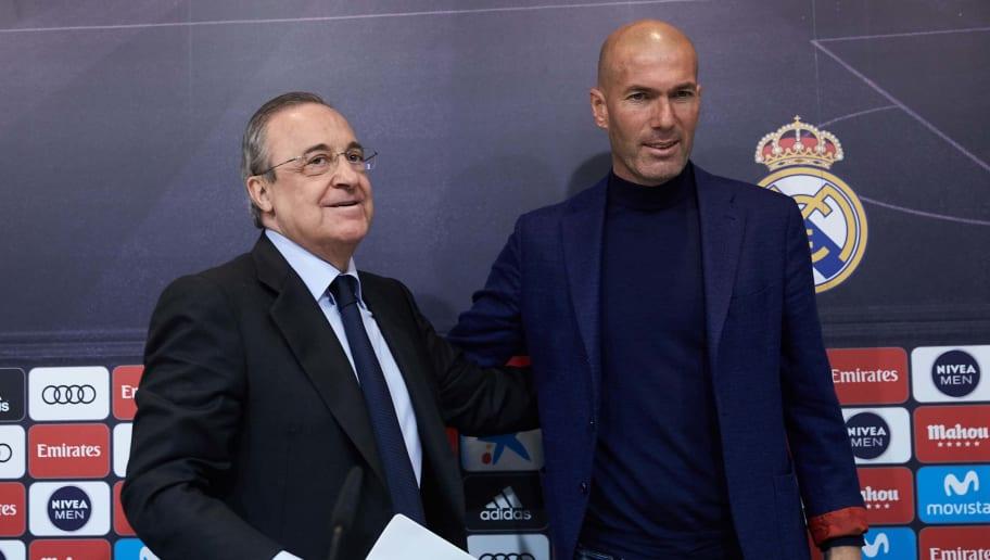 Zinedine Zidane,Florentino Perez