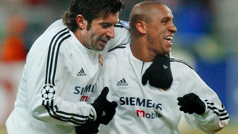 Real Madrid's Brazilian player, Roberto