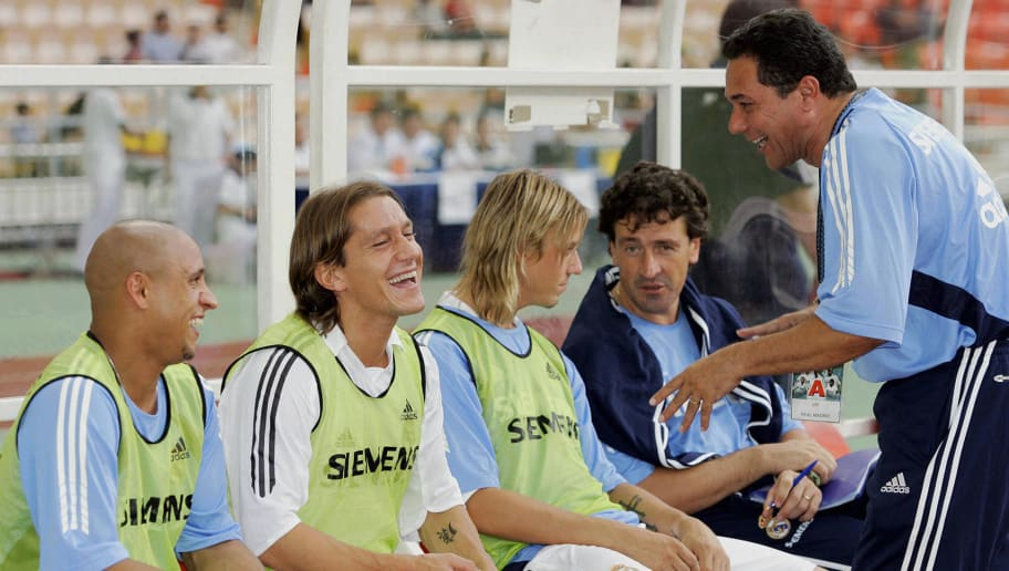 Real Madrid's coach Vanderlei Luxemburgo