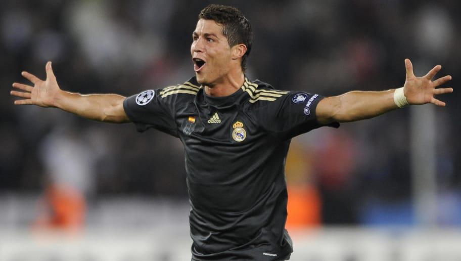 Real Madrid's Cristiano Ronaldo celebrat