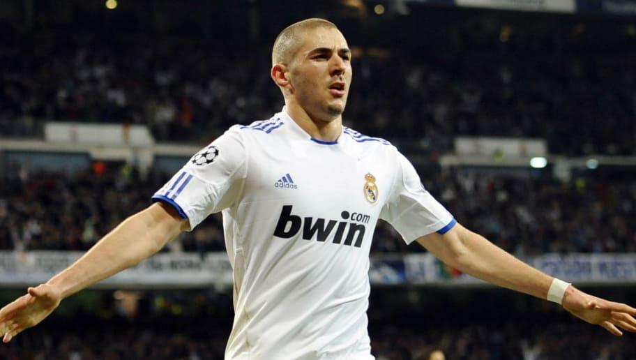 Real Madrid's French forward Karim Benze