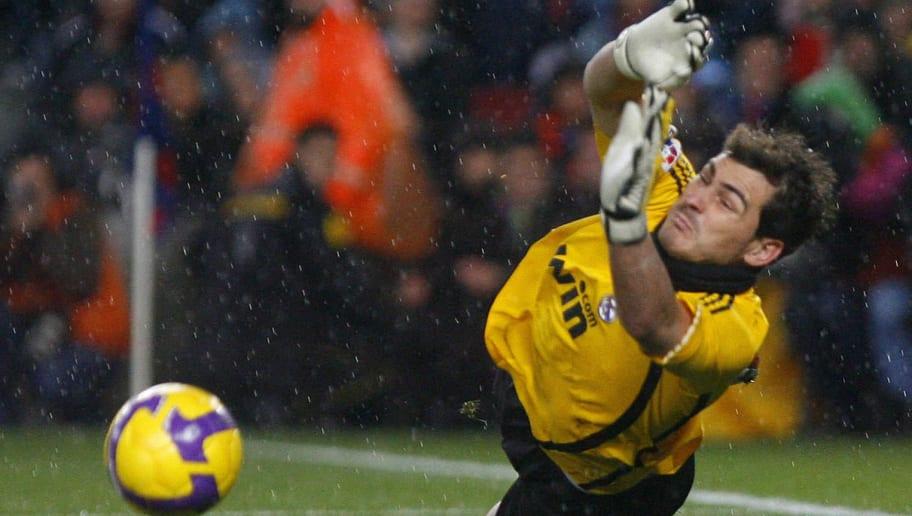 Real Madrid's goalkeeper Iker Casillas s