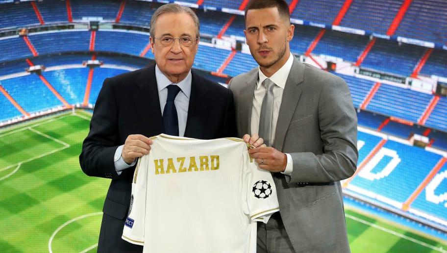 Eden Hazard,Florentino Perez