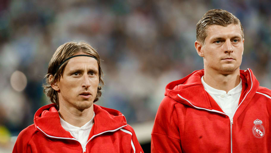 Luka Modric,Toni Kroos