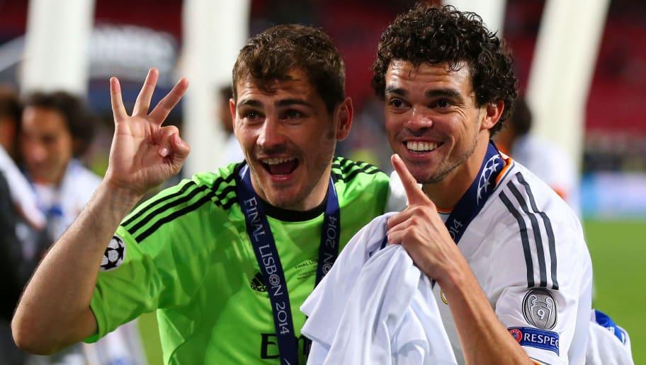 Iker Casillas,Pepe