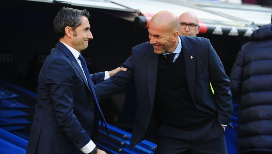 Ernesto Valverde,Zinedine Zidane