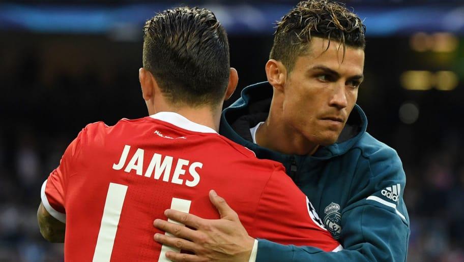 James Rodriguez,Cristiano Ronaldo
