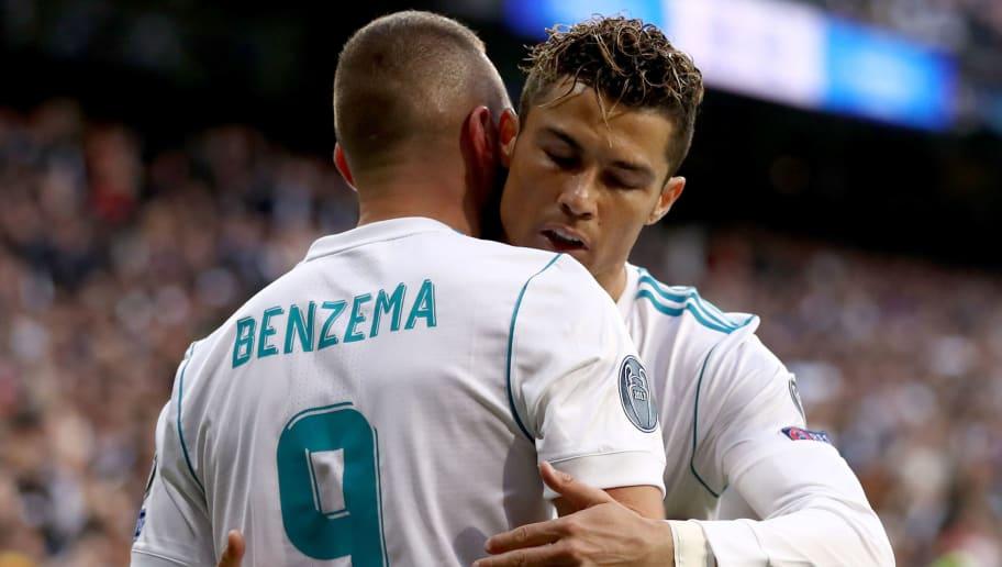 Karim Benzema,Cristiano Ronaldo