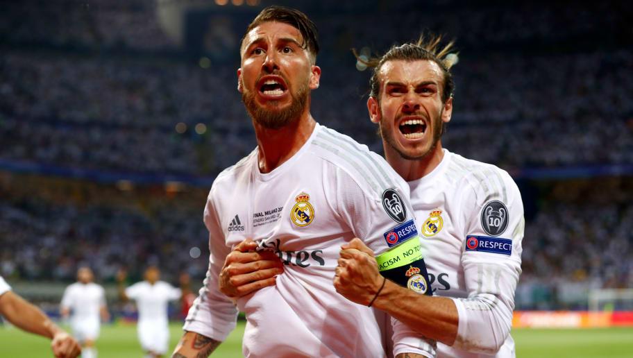 Gareth Bale,Sergio Ramos