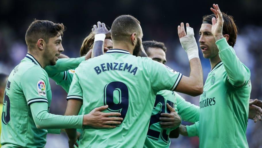 Fede Valverde,Karim Benzema,Sergio Ramos
