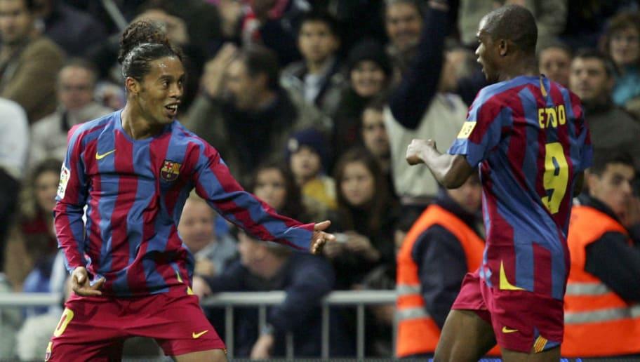 Ronaldinho,Samuel Eto'o