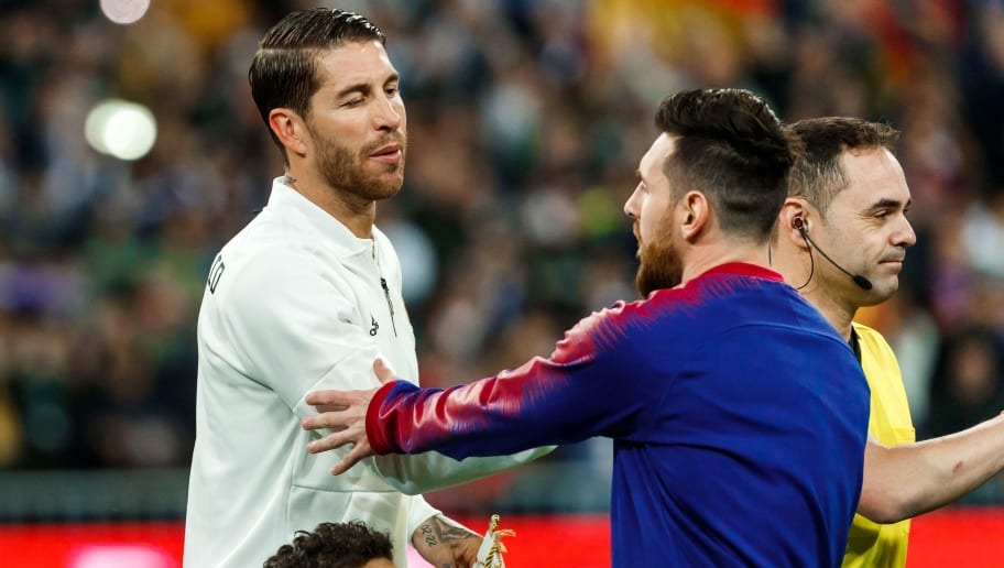 Sergio Ramos,Lionel Messi