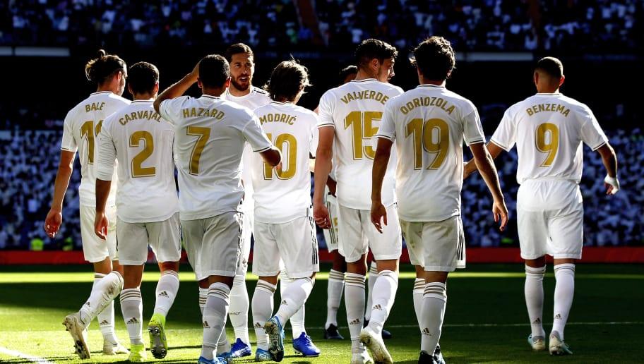 Alvaro Odriozola,Dani Carvajal,Federico Valverde,Gareth Bale