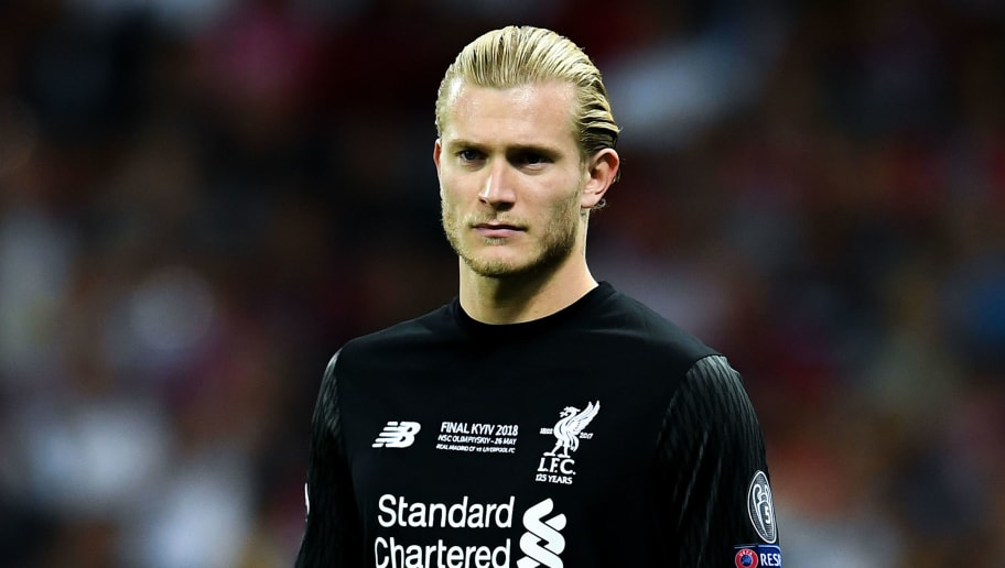 KIEV, UKRAINE - MAY 26:  Loris Karius of Liverpool looks on during the UEFA Champions League final between Real Madrid and Liverpool on May 26, 2018 in Kiev, Ukraine.  (Photo by David Ramos/Getty Images)